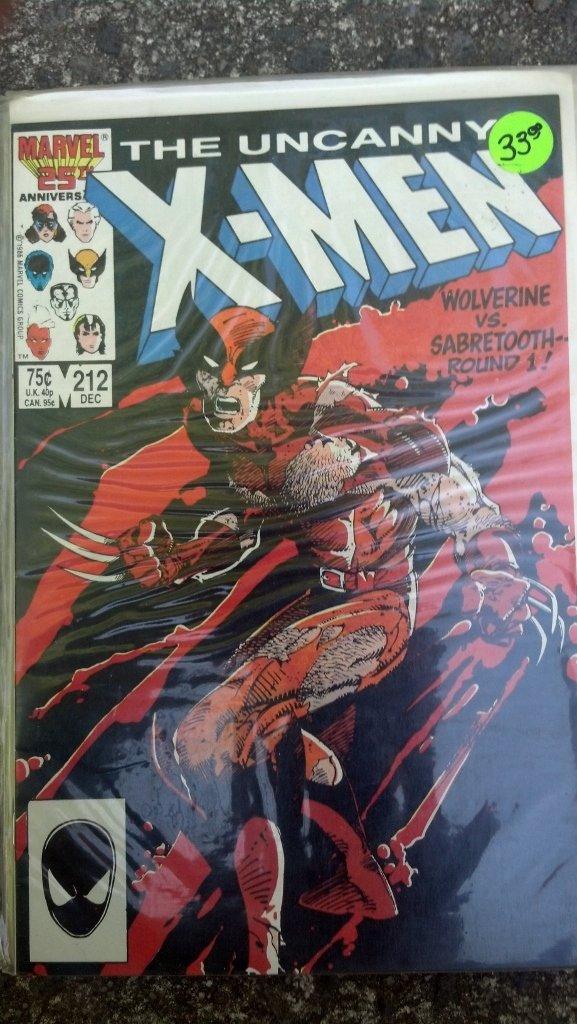 The uncanny X-Men #212