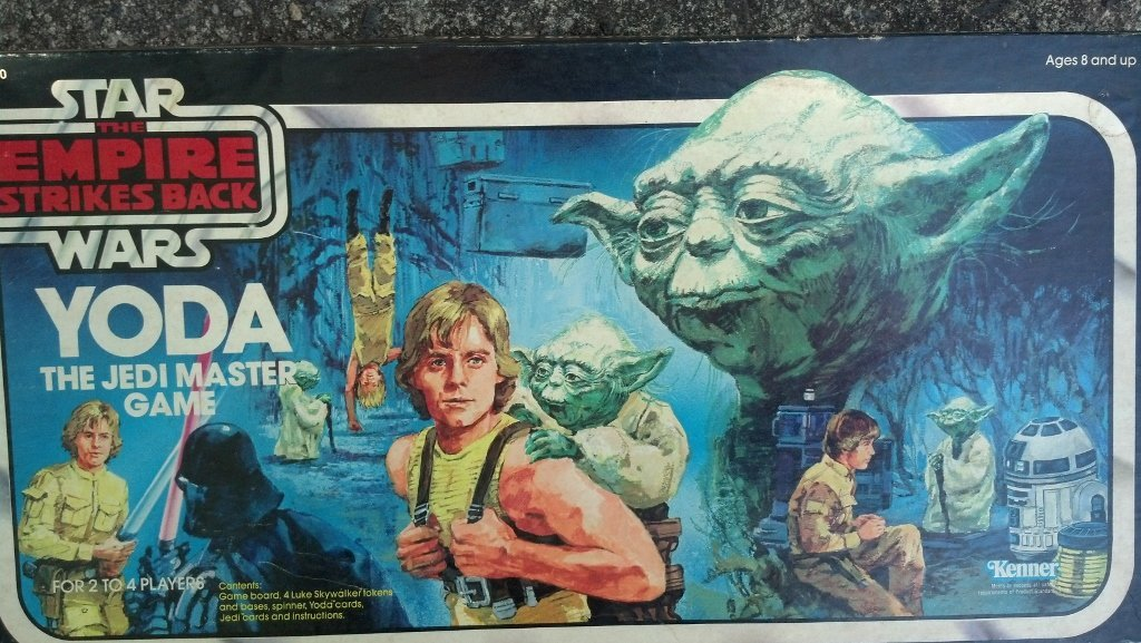 Star Wars - Yoda's Jedi Masters Board Game