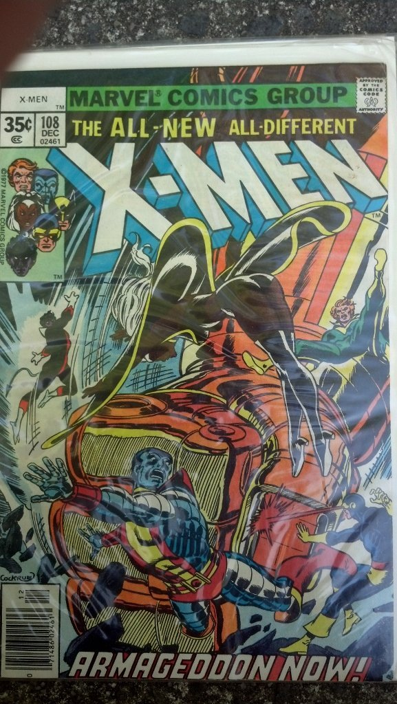 The X-Men #108 .35 cent