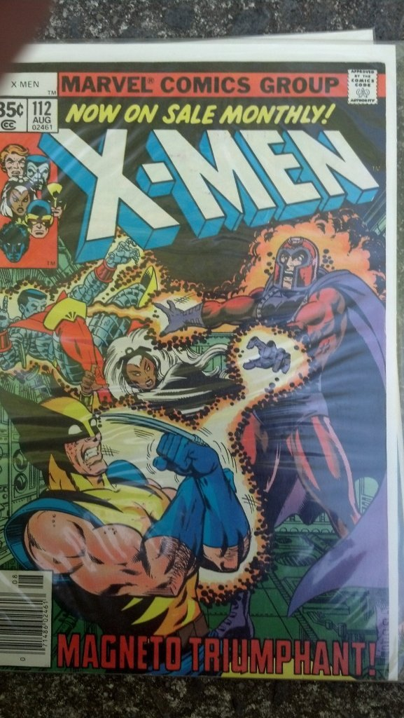 X-Men #112 early Book