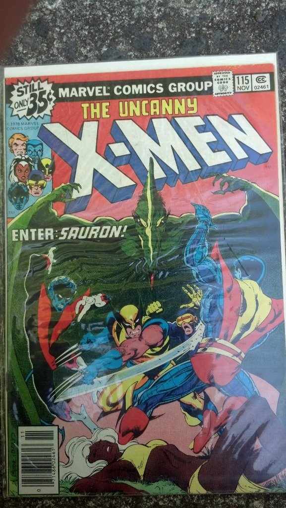 X-Men #115 Early Book