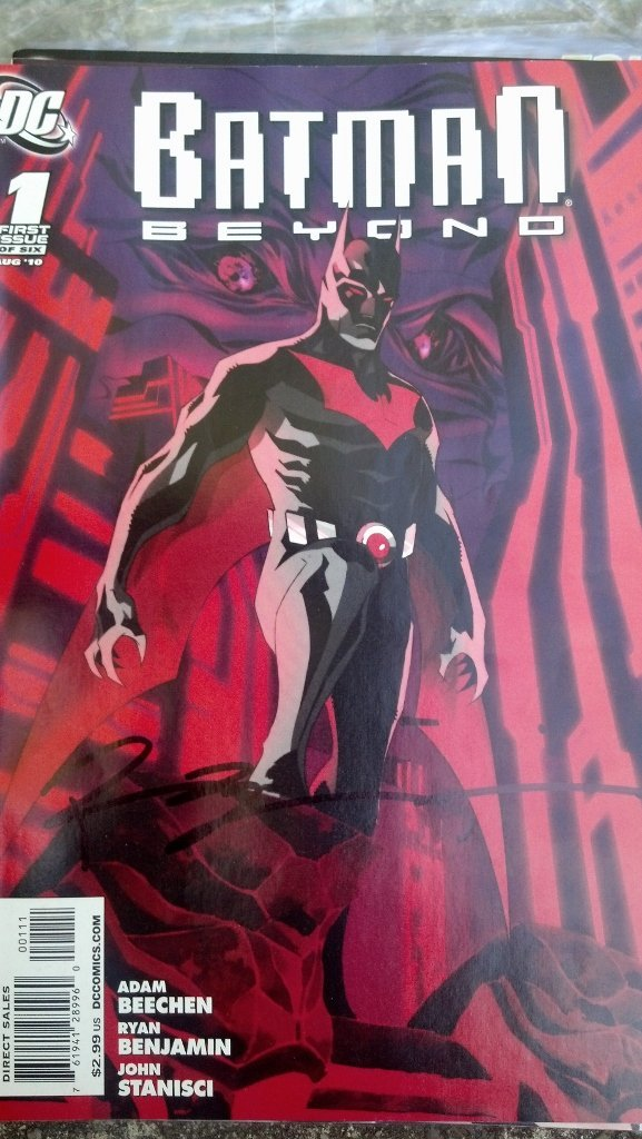 Batman Beyond Issues #1 and Issue #2 - SIGNED