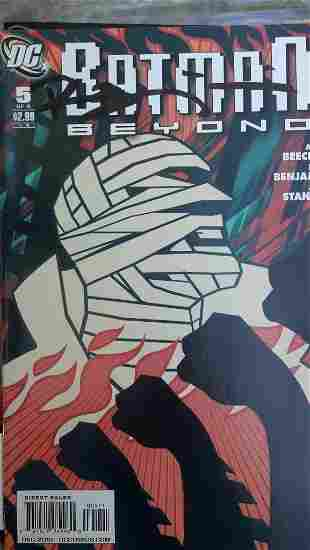 Batman Beyond Issues #5 and Issue #6 SIGNED