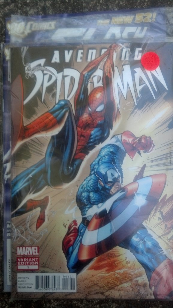Avenging Spiderman Issue #1 - Variant edition