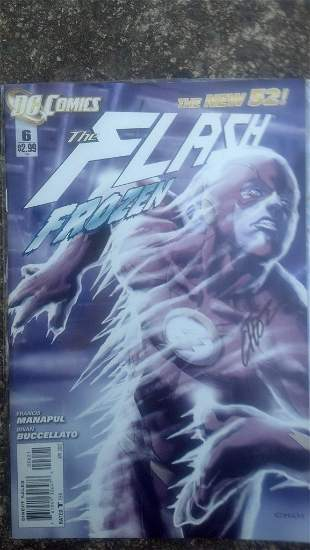 Flash #6 - The New 52 - SIGNED By Choi w/ COA