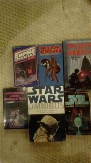 Star Wars Book Lot - 6 Different Books