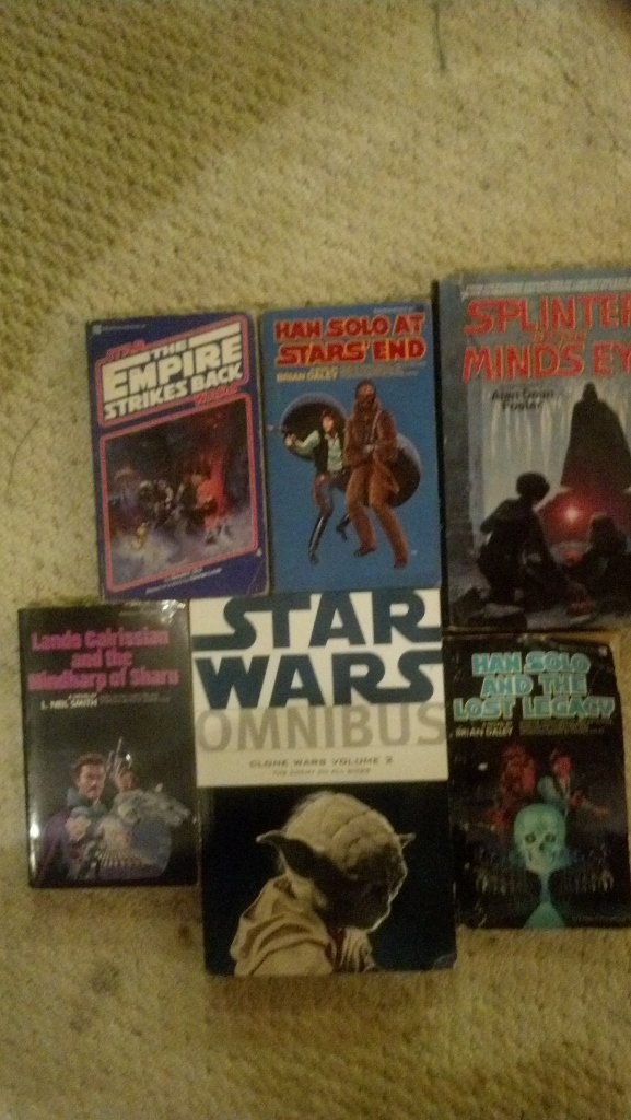 Star Wars Book Lot - 6 Different Books