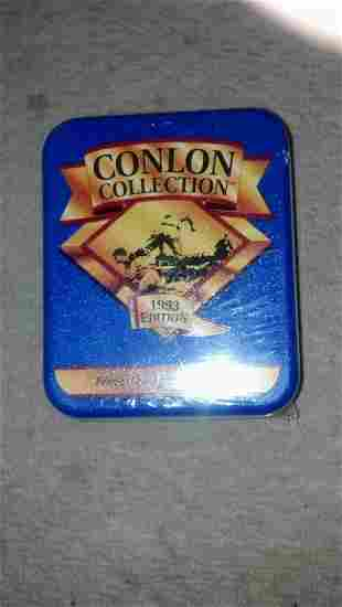 Sports Cards - Collectors Tin Sealed 330 cards full