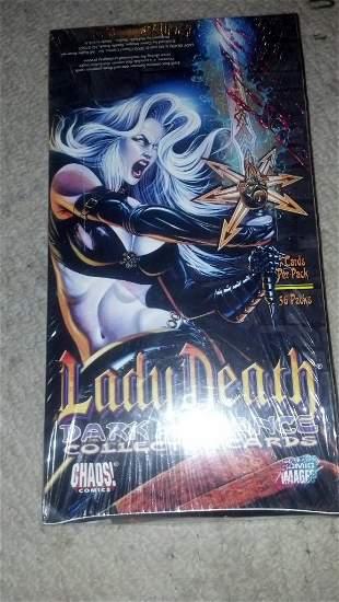 Lady Death Dark Alliance Collectors Cards box set