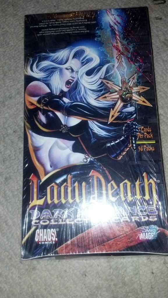 Lady Death Dark Alliance Collectors Cards box set