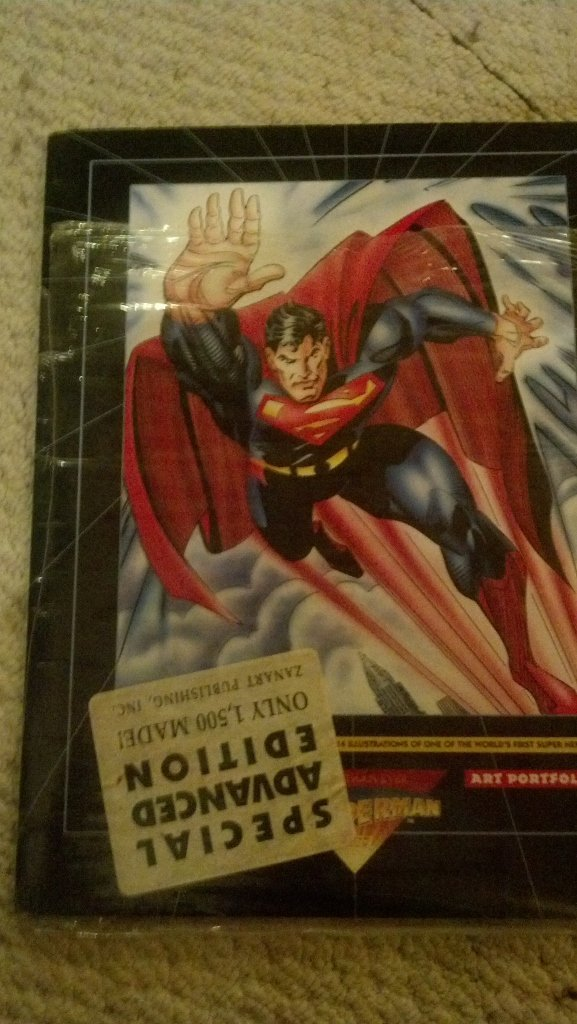 Superman Limited Edition Art Portfolio