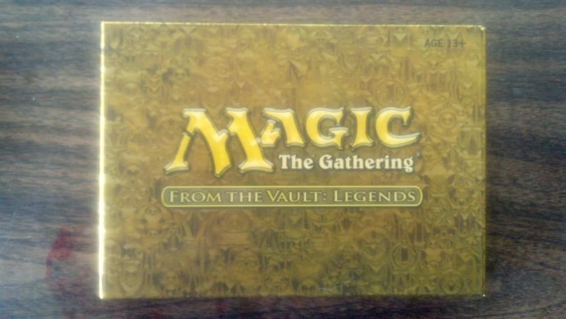 Magic The Gathering - Sealed Vault cards - (3) Limited