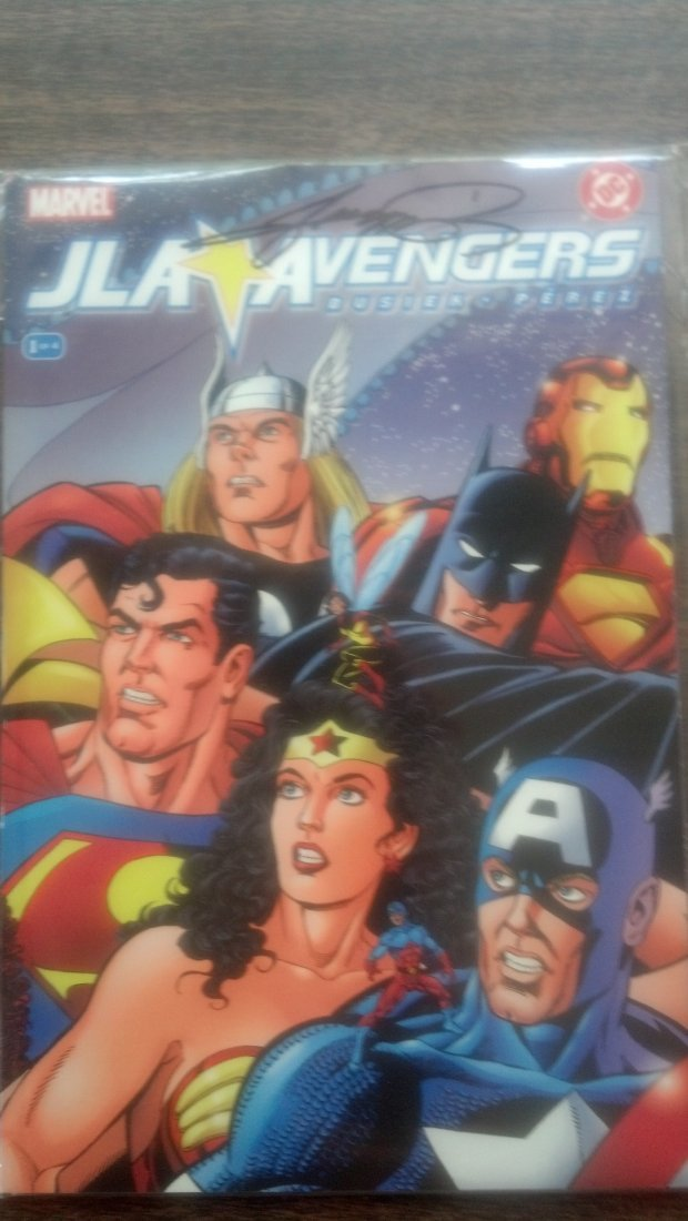 JLA - Avengers Issue #1 SIGNED