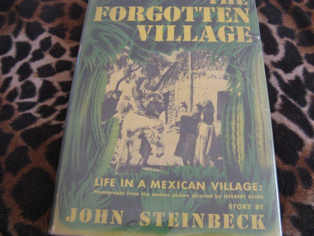 STEINBECK'S-FORGOTTEN VILLAGE SIGNED BY HERBERT KLINE