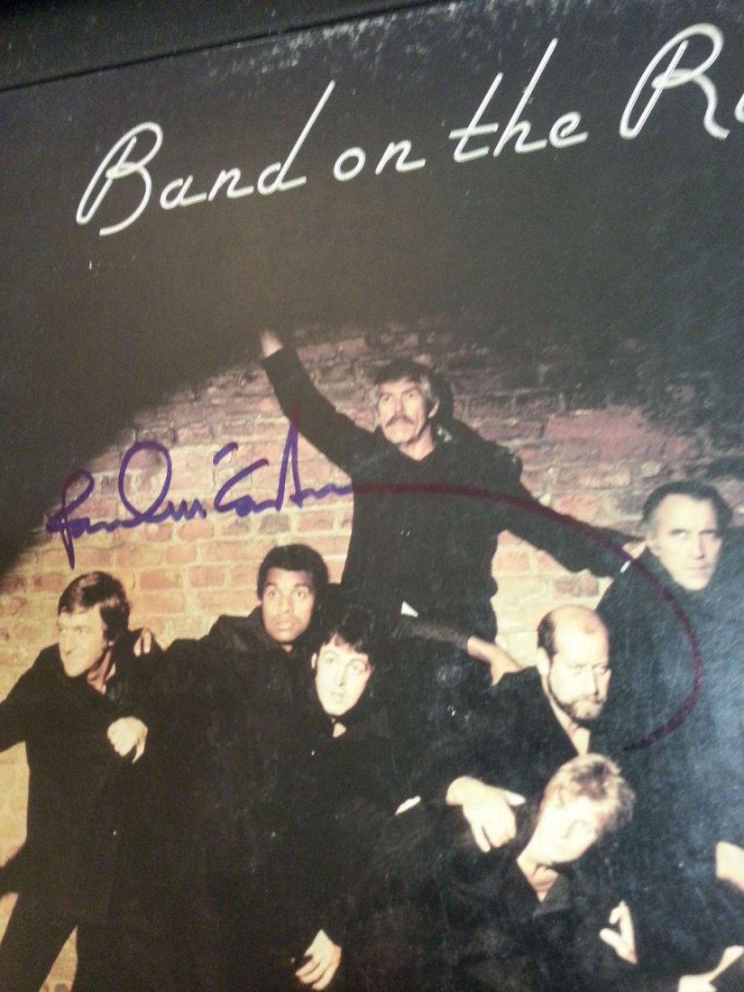 PAUL MCCARTNEY SIGNED 'BAND ON THE RUN'-LP-W/LOA!