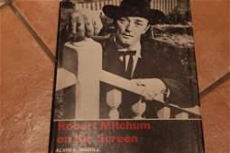 Robert Mitchum On Screen book SIGNED