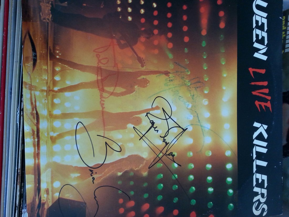 QUEEN LP SIGNED BY ALL ORIGINAL MEMBERS