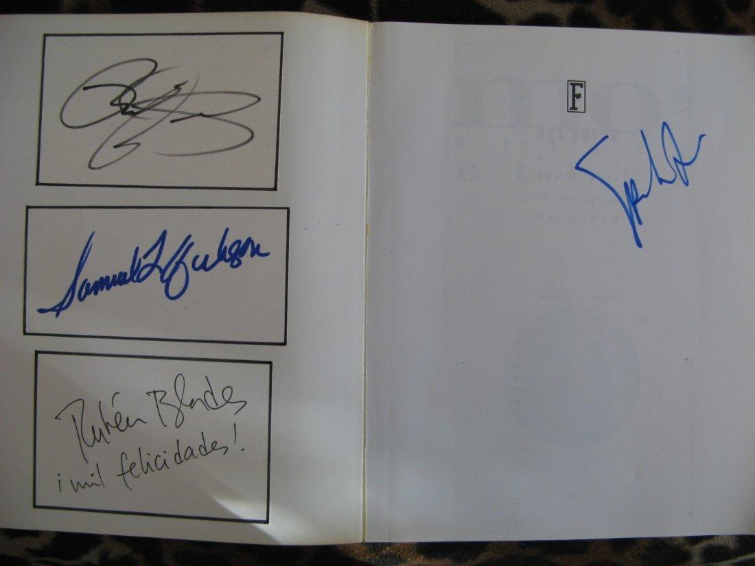 Mo Better Blues Signed Spike Lee-Samuel Jackson+more