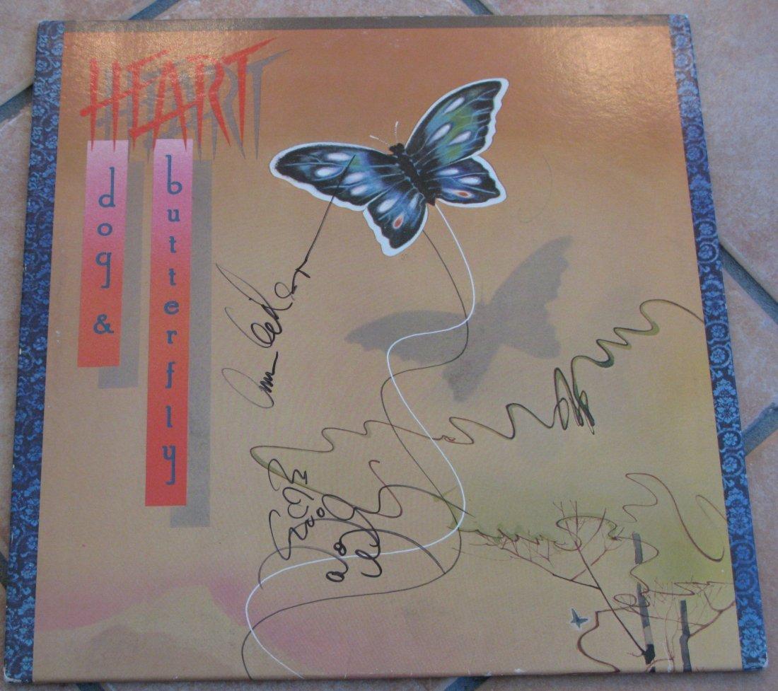 Heart LP Signed By Ann & Nancy Wilson