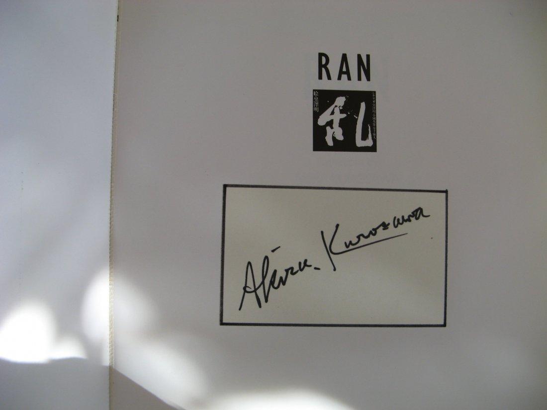 RAN-WITH SIGNATURE OF AKIRA KUROSAWA