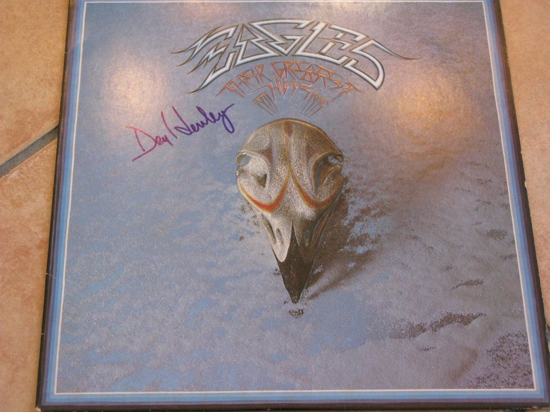 The Eagles LP Signed By Don Henley