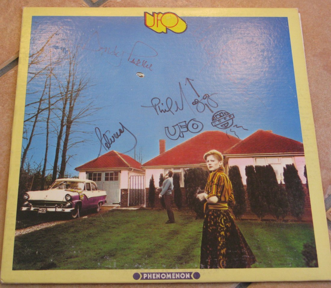 UFO LP Signed By Four Members
