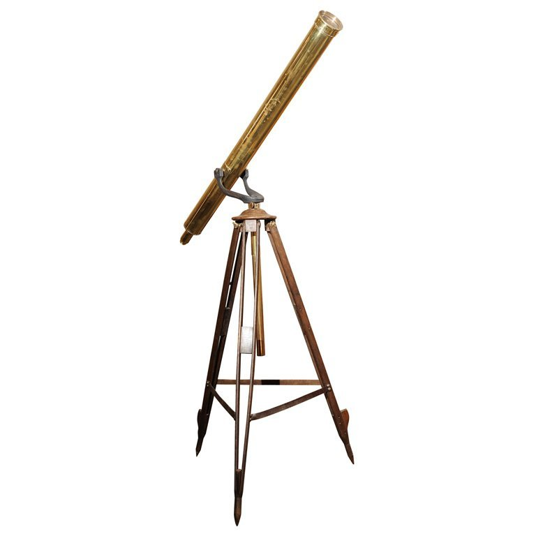French Brass telescope