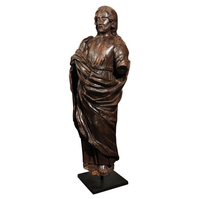 Large sculpture of a saint