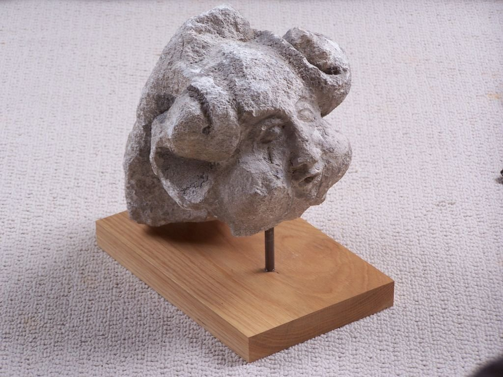 Limestone Grotesque sculpture