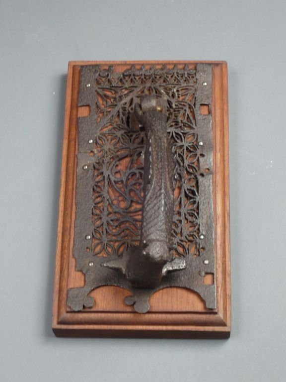 Gothic Spanish door knocker