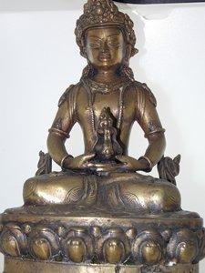Brass Vajrasattva statue