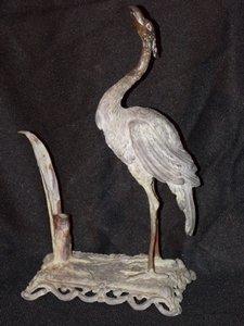 Antique Bronze Pen Holder