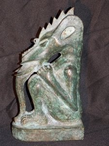 Bronze Mythical Statue
