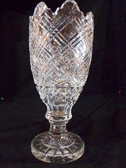 Very Large crystal Waterford Vase