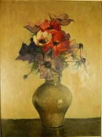 Louis Bron Oil Painting On Panel