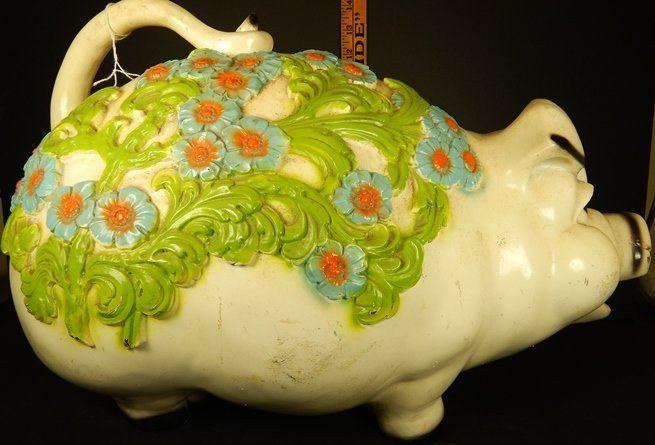 VINTAGE LARGE PIGGY BANK