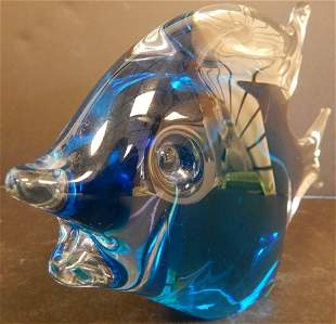 SIGNED SWEDISH GLASS FISH
