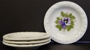 (4) ROSENTHAL PORCELAIN PLATES