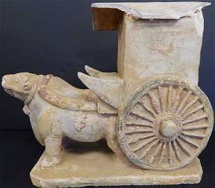HAN DYNASTY POTTERY SCULPTURE