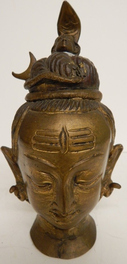 RARE ANTIQUE GILDED BRONZE THAI BUDDHA STATUE