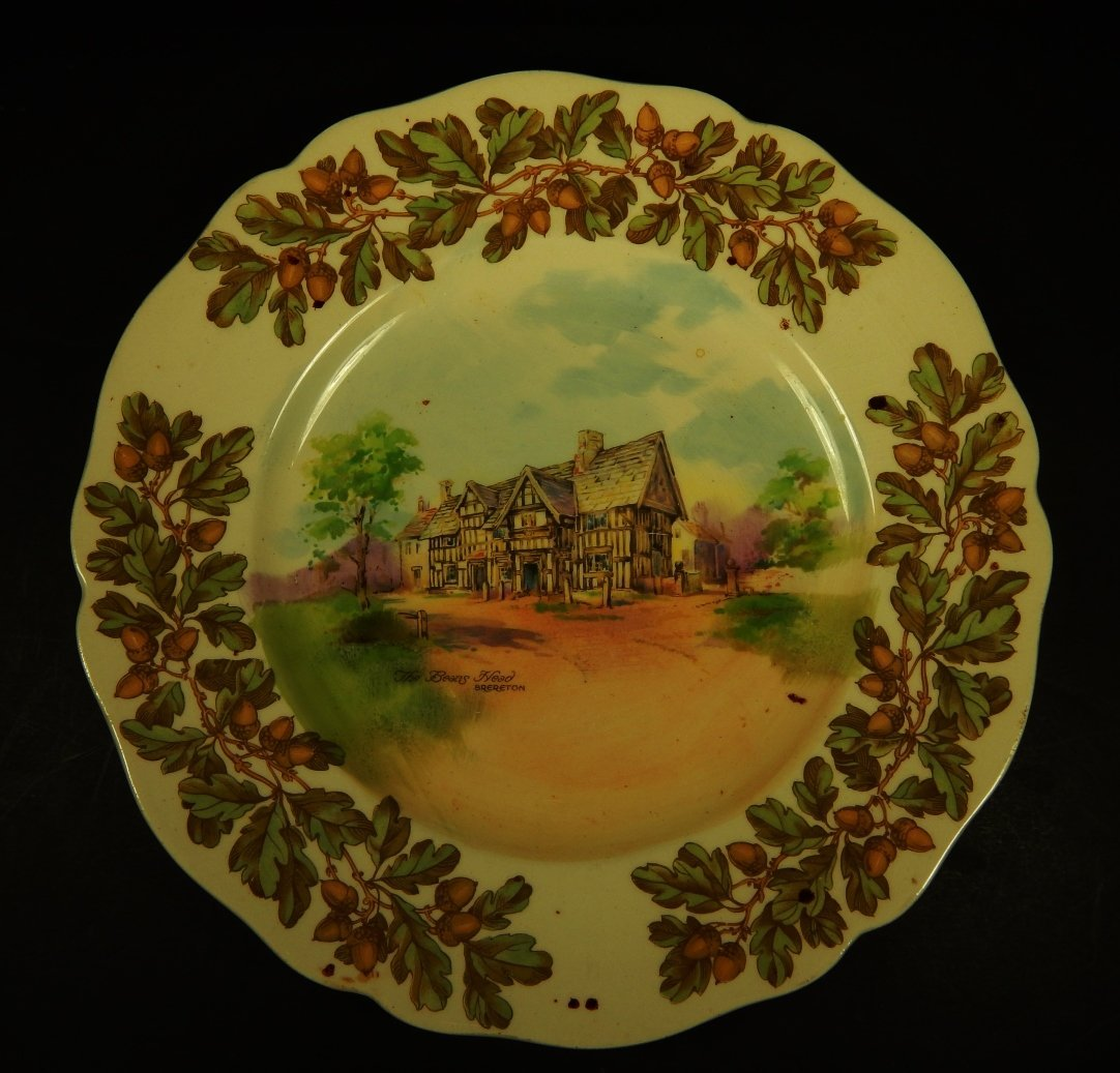 ROYAL DOULTON OLD ENGLISH INNS PLATE