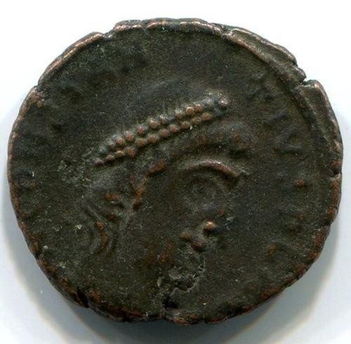 Roman bronze coin Constantius II (337-361 AD), #10390 - 2