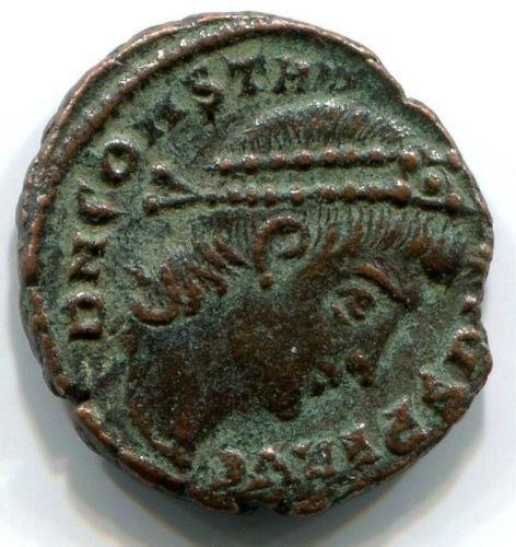 Roman bronze coin Constantius II (337-361 AD), #10397