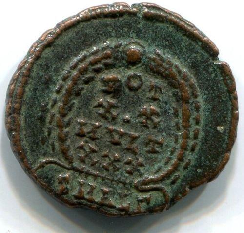 Roman bronze coin Constantius II (337-361 AD), #10397 - 2