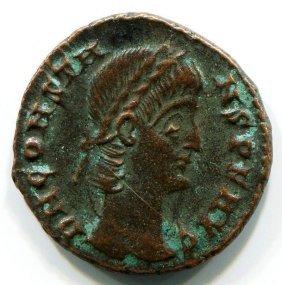 Roman bronze coin Constans Augustus (337-350 AD) #11597