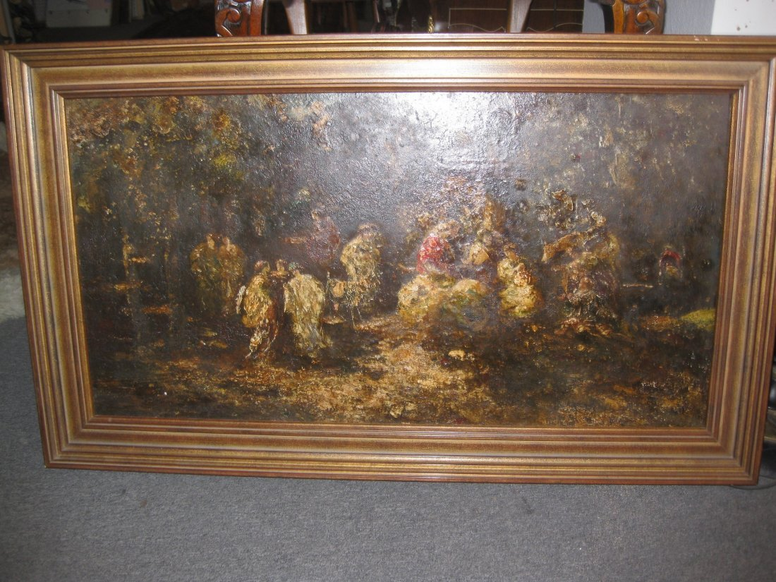 Monticelli (1824-1886), France, 19th c, Oil Painting