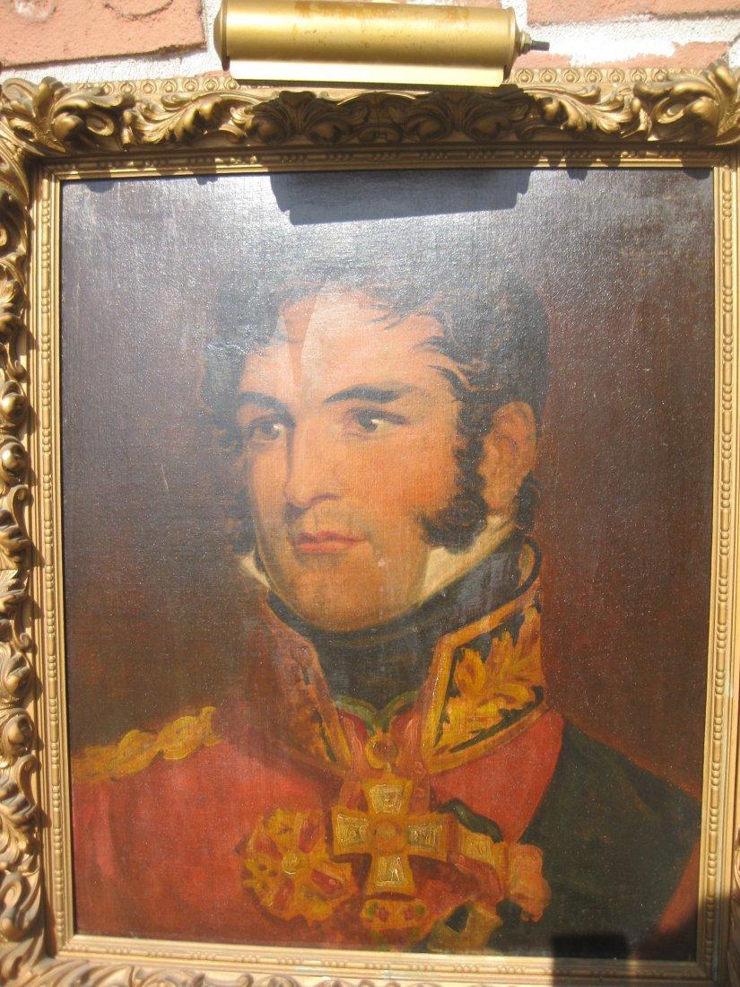 Portrait of British General Thomas Picton, killed 1815