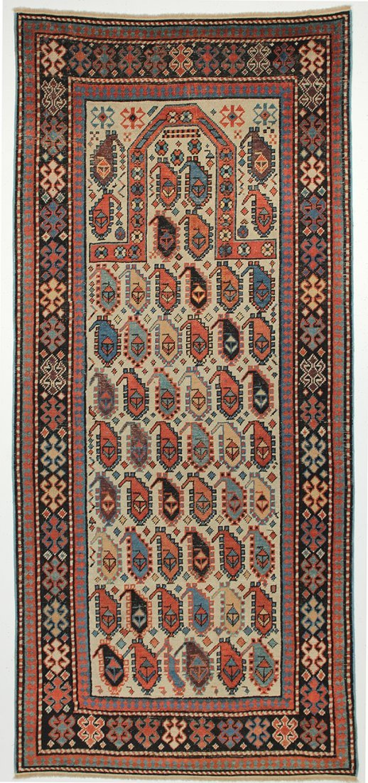 Caucasian Shirvan Akstafa Prayer rug