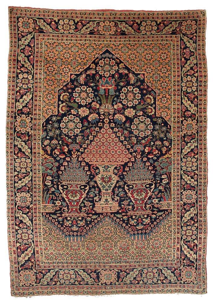 Tabriz Prayer Rug
