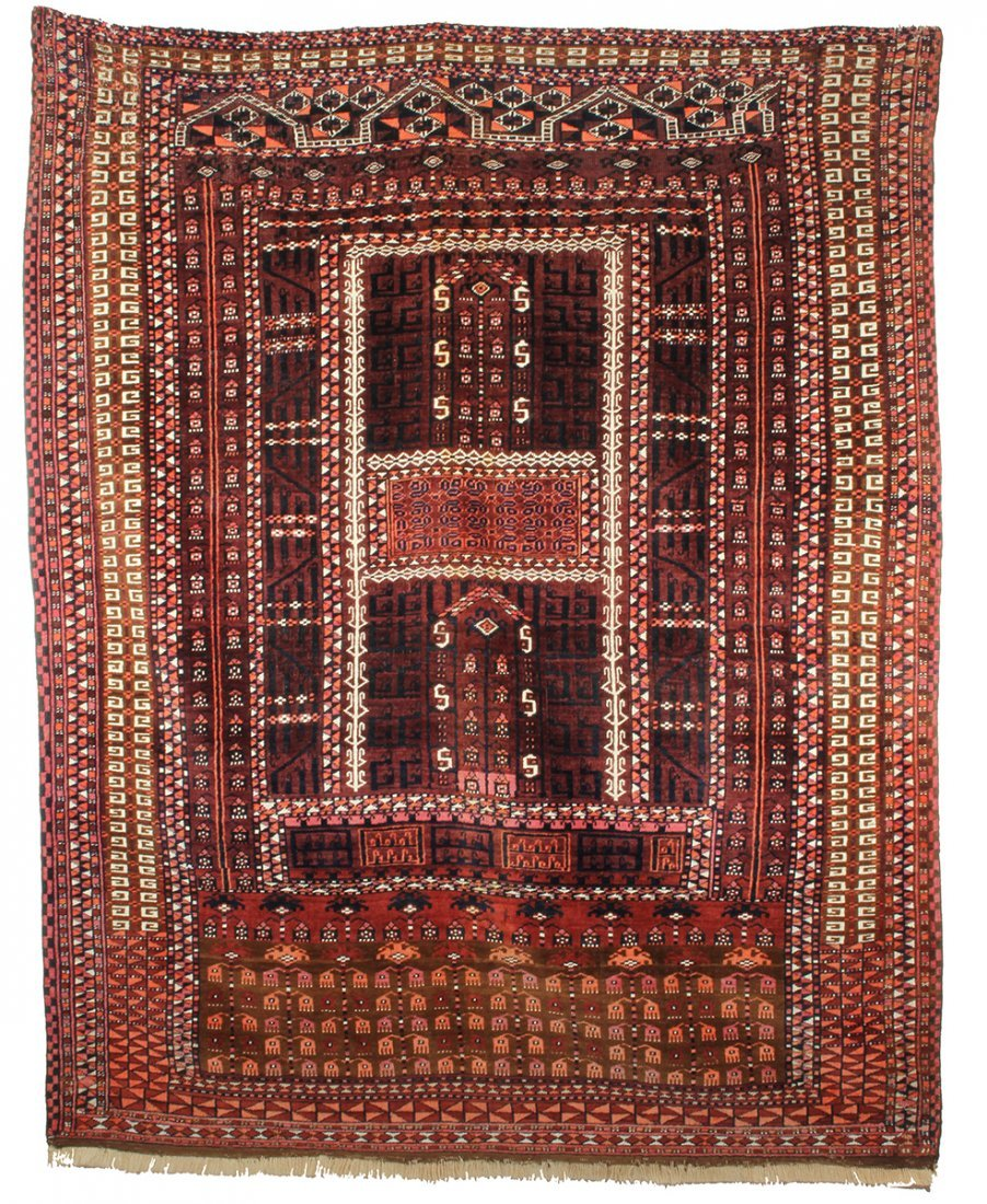 Saryk Ensi Prayer Rug
